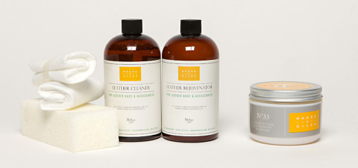 Moore & Giles Leather Cleaning Products