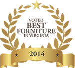 Awarded Best Furniture in Virginia by Virginia Living Magazine
