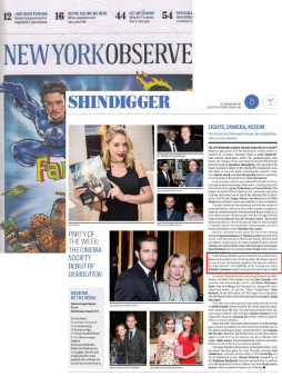 New York Observer – March 2016