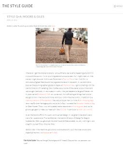 TheStyleGuide.com – April 2016