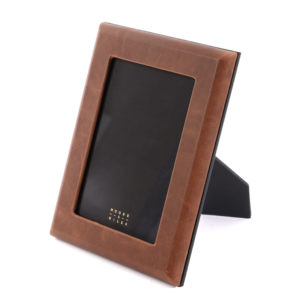 Leather Wrapped Photo Frame