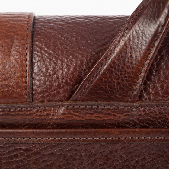 Carlton - Courier Bag - American Bison