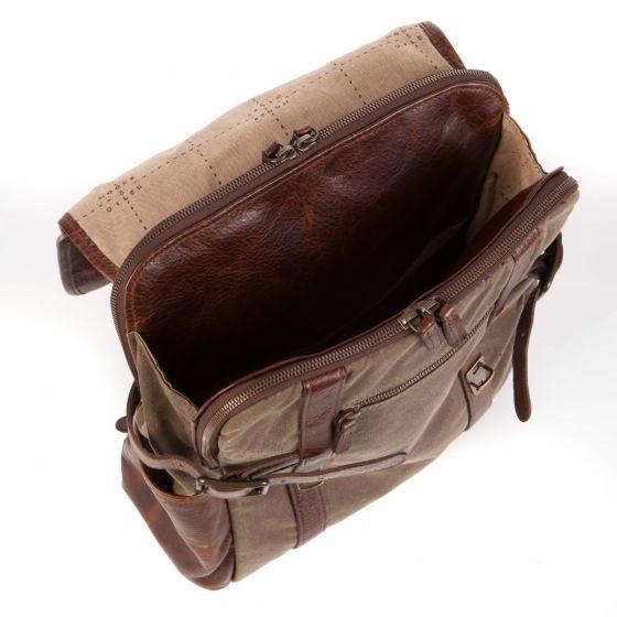 Crews - Backpack  - Waxwear Rangertan