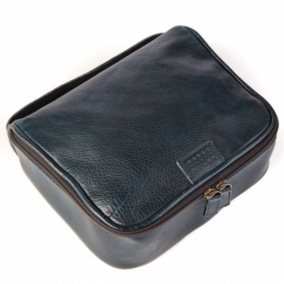 Donald - Dopp Kit - Titan Milled Navy