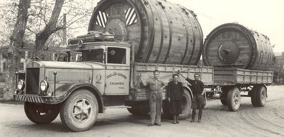 Transporting Leather Drums