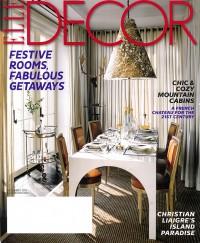 Elle Decor - Dec 2013 cover